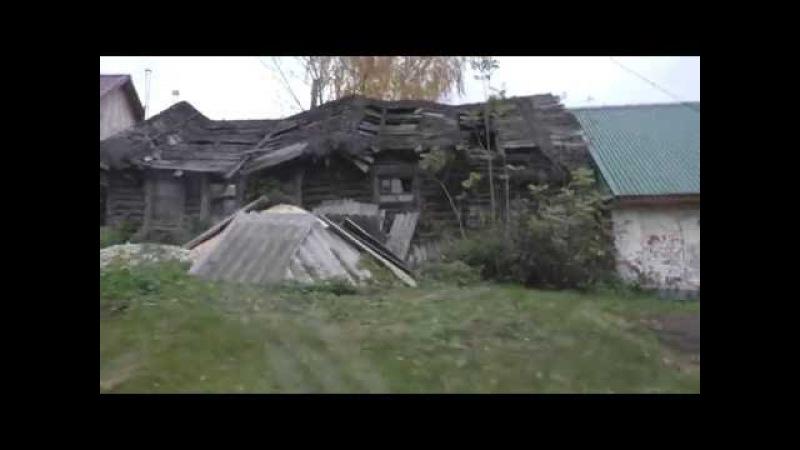 Москвичи обживают глухие деревни Рязанской области...