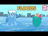 FLOODS - The Dr. Binocs Show  Best Learning Videos For Kids  Peekaboo Kidz