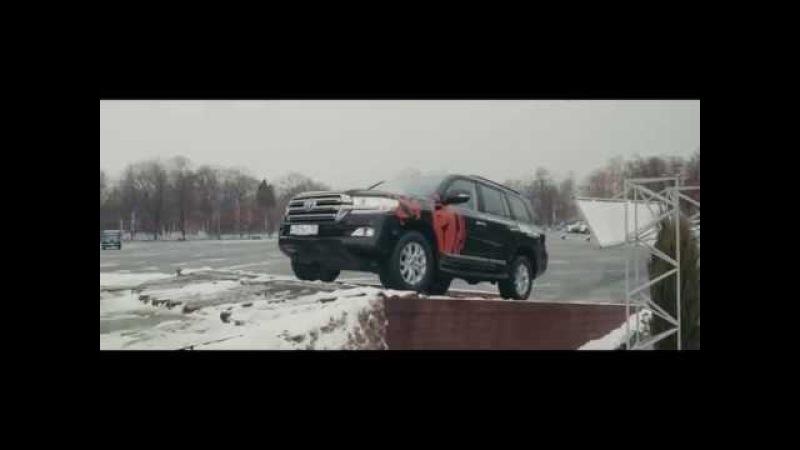 Cистема A-TRC внедорожников Toyota