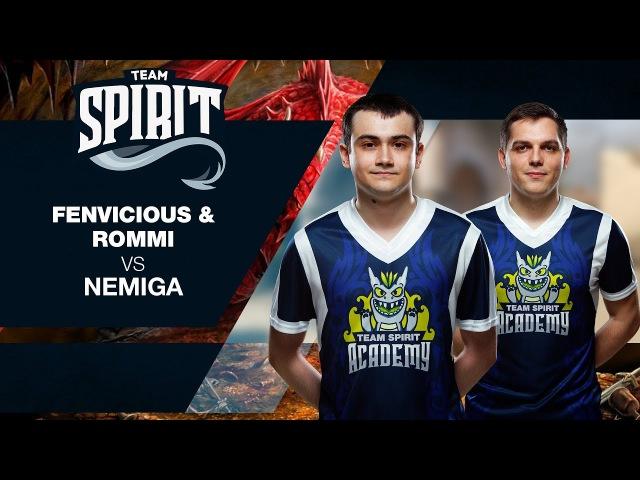 Spirit Academy - fenvicious rommi vs Nemiga