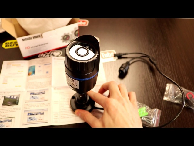 IP Камера Видеонаблюдения MISECU FullHD с ночьной съемкой защита IP65 обзор и тест днем и...