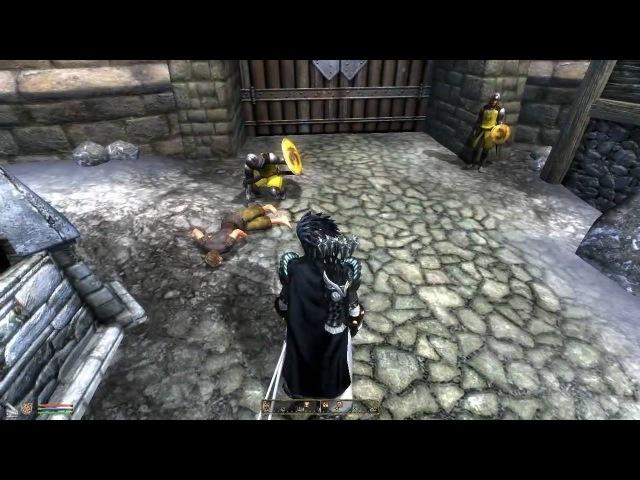 Oblivion - Guard forgot he killed a beggar