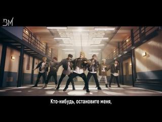 [rus sub] bts - mic drop (steve aoki remix)