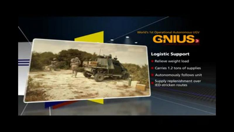 Израиль G Nius UGS UGCV Авангард Guardium LS UGV Guardium UGV 480p