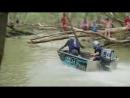 Сумасшедшие гонки на лодках по джунглям