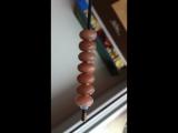 Персиковый лунный камень для Pandora