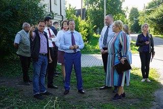 В.Р.Мединский на Троицком раск...
