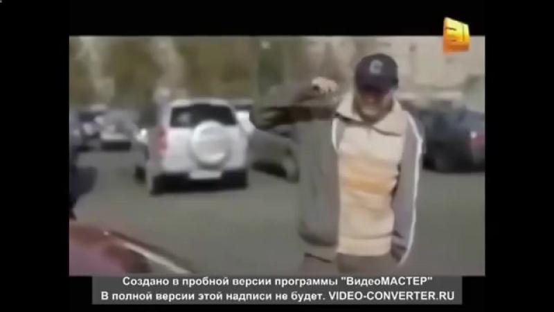 Прикол с блондинкой Ржака Закрыла машину 1