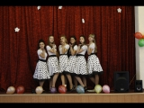Танец от девочек 11-А класса. I KNOW GREAT BRITAIN