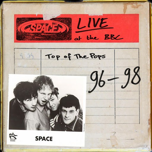 Space альбом Live at the BBC - Top of the Pops