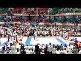 Tokyo Japan,Nippon Budokan,World Cup ,Aleksandr Rud(Russia)vs Ysuke Naga (Japan)