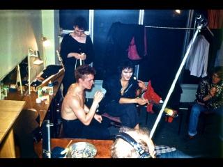 Гримерка после концерта в ЛДМ 5-й рок фестиваль ЛРК 1987 Виктор Цой группа Кино
