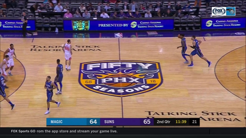 NBA 2017-18/ 10.11.2017 / Финикс - Орландо