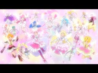 Precure All Stars DX3 Super Transformation [1080p]