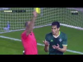 Испания ЛаЛига Депортиво - Бетис 1:1 обзор 08.03.2017