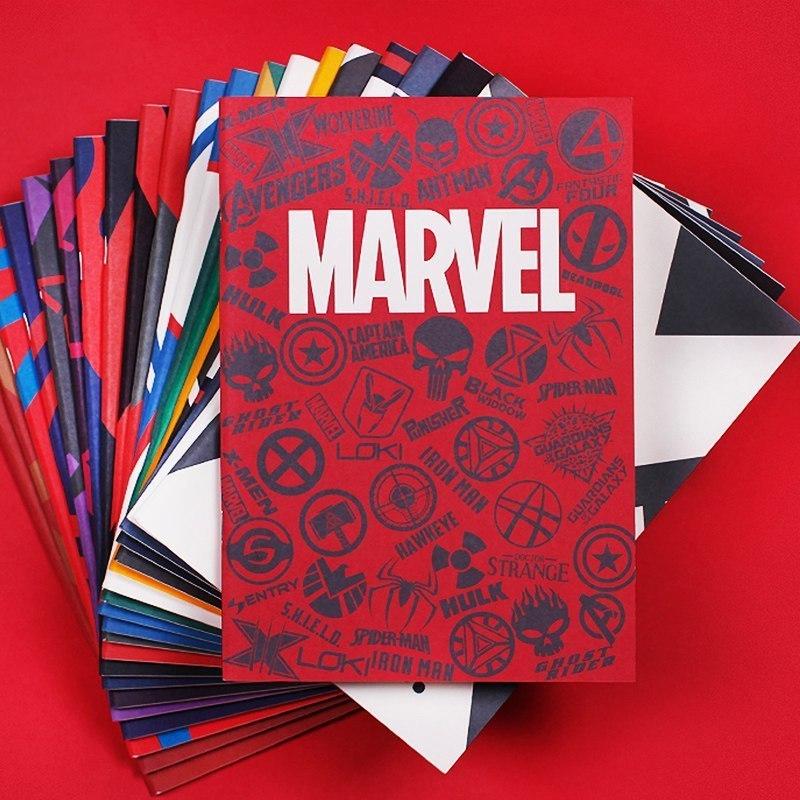 Тетради в стиле Marvel