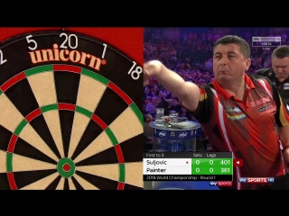 Mensur Suljović vs Kevin Painter (PDC World Darts Championship 2018 / Round 1)