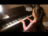 Сима 12 лет, опыт игры на фортепиано 5 лет