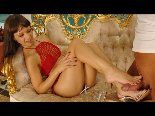 Angelina crow [hd 720, all sex, feet, brunette, small tits, high heels, foot fetish]