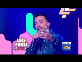 Luis Fonsi - Performs Despacito LIVE телешоу «Good Morning America».