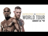 Mayweather vs McGregor World Tour Paulie Malignaggi - The World is Watching This