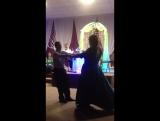 Первый танец новой семьи