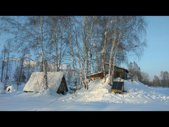 Автономная жизнь в лесу, Солнечные батареи
