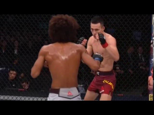 Видео боя UFC Fight Night 122: Алекс Касарес vs. Уанг Гуан