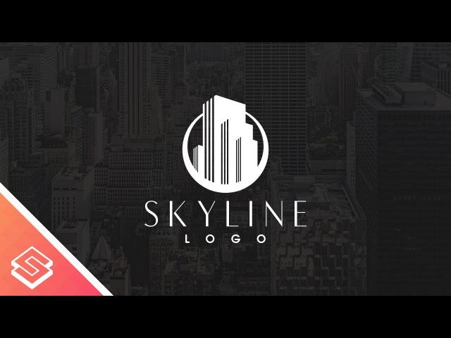 Inkscape For Beginners: Skyline Logo Tutorial