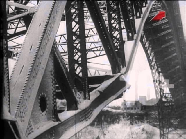 США 1938. Крушение моста в Ниагара-фолс