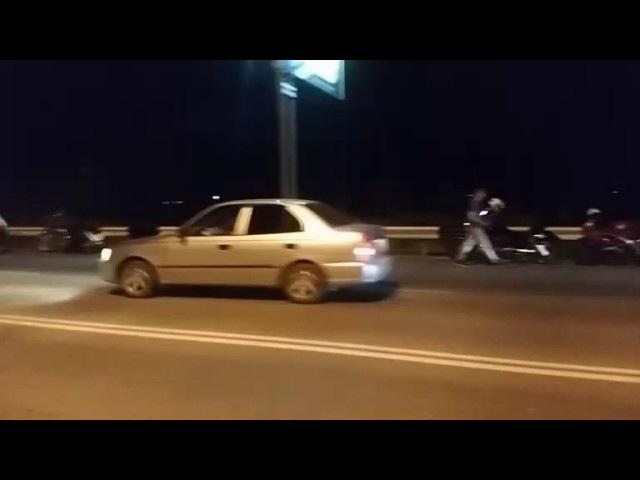 Страшная авария в Кургане, на шоссе Тюнина: погиб мотоциклист