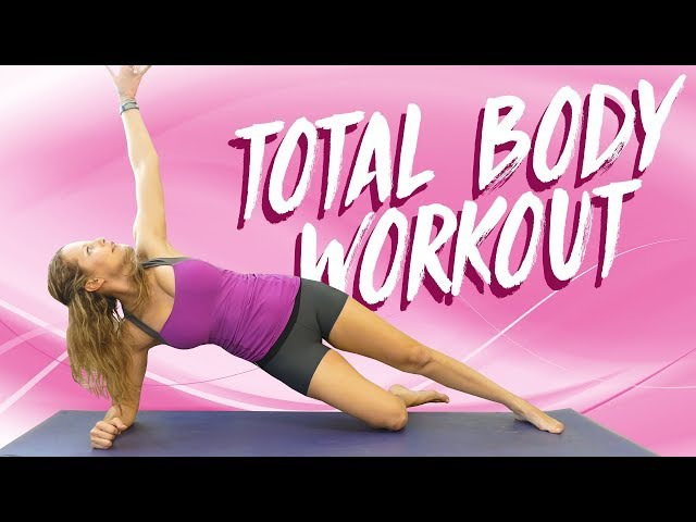 Get Fit with Dena ♥ Total Body Workout | Beginners, Sculpt Tone, Core, Butt, HIIT at Home