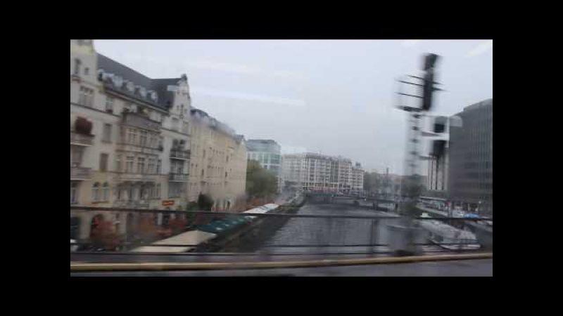 Берлин, Германия, наземное метро в Берлине (S-Bahn) | Berlin, Deutschland, die U-Bahn in Berlin