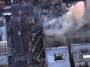 Hamilton Heights Apartment Building Fire in Manhattan
