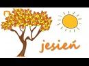 Piosenka edukacyjna dla dzieci Cztery pory roku Wiosna Lato Jesień Zima Profesor Szymon