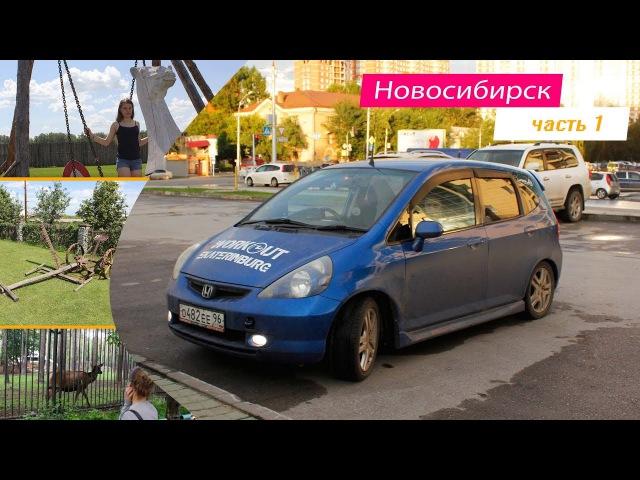 VLOG! дорога в Новосибирск , прогулка по крупнейшему зоопарку им.Р.А. Шило