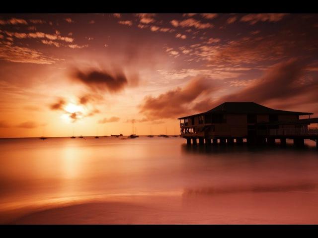 🐬 🌴Красивый закат на море, шум волн, релакс ❤⛵