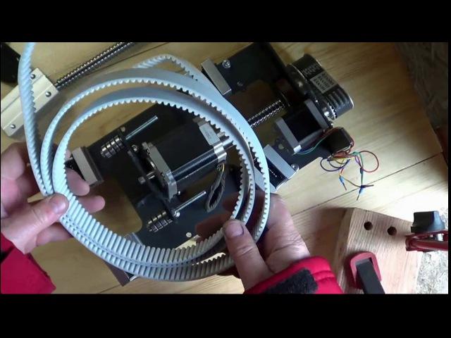 Ч3. Сборка оси Z для ЧПУ плазмы. Система привода на ремнях и шкивах