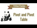 Python Pandas Tutorial 10. Pivot table