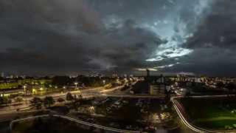 Thunderstorms in Koszalin