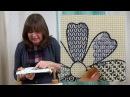 Hand Embroidery - Blackwork Tulips
