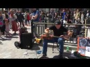 Morf Driving Fast INSANE GUITAR TAPPING Busking in the streets of London UK