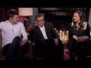 Taron Egerton, Colin Firth Sophie Cookson - Kingsman: The Secret Service Interview HD