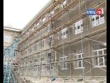 Масштабные ремонтно-строительные работы в городе