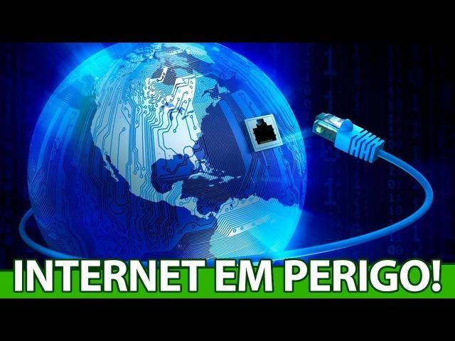 A INTERNET do BRASIL está em PERIGO, novamente, o GOVERNO pode destruir tudo