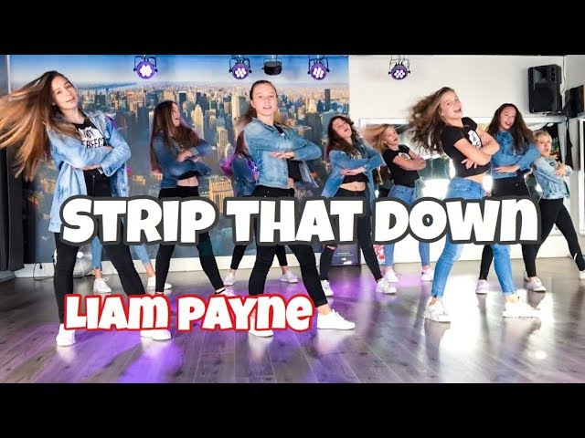 Strip that down - Liam Payne - Easy fitness Dance Choreo Teens - Kids - Coreografia - Baile
