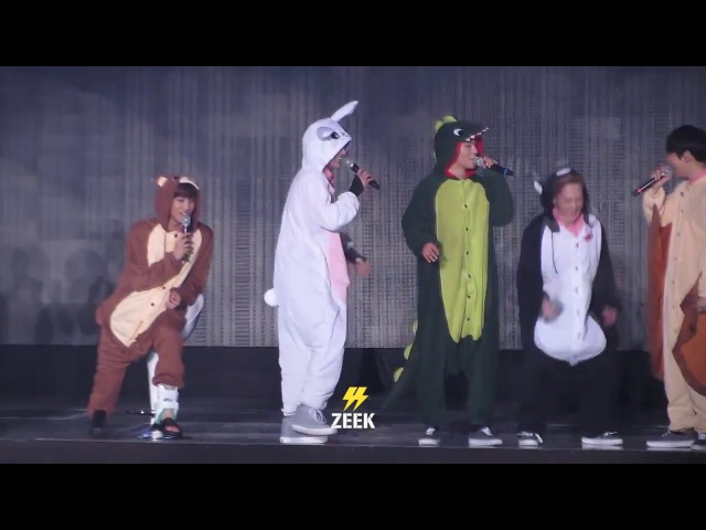 160320 The EXO'luXion Talk Zoo costume, Dance aegyo, talk to english language