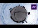 360 Graden video - Tiny Planet effect