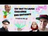 TRY NOT TO LAUGH CHALLENGE EMO QUARTET EDITIONCRACK VID #4
