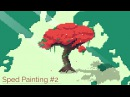 Speed Pixel Art 2 - A Japanese Tree